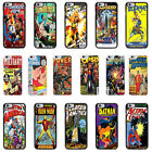 DC Marvel Comic Book Case Cover for Apple iPhone 4 4s 5 5s 6 6 Plus - 08