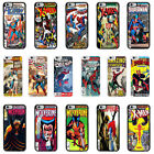 DC Marvel Comic Book Case Cover for Apple iPhone 4 4s 5 5s 6 6 Plus - 10
