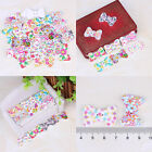 New Fashion Bulk Craft Bowknot Sewing Wooden Buttons Scrapbooking 2 Holes Gift