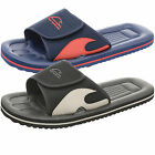 Mens Open Toe Flip Flop Breaker Womens Velcro Shower Mules Insole Grip Pool Shoe