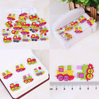 New Fashion Bulk Craft Locomotive Sewing Wooden Buttons Scrapbooking 2 Holes