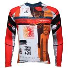 Global Travel Paladin Cycling Clothing Bike Bicycle Long Sleeve Cycling  Jersey