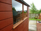 Clear Acrylic Perspex Safety Plastic Replacement Shed Windows - Various Sizes
