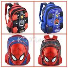 New Kids Boys 3D F1Racing Cars/ Spiderman backpack school Bag H40*L29*W13cm