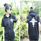 One Piece Ace Whitebeard Pirates Cosplay Costume Short-sleeved Hoodie T-Shirt