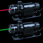 Red/Green Laser Sight 30mm Ring Scope Mount W/Remote Switch For Hunting