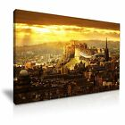 EDINBURGH Castle Scotland Canvas Framed Print Wall Art ~ 9 Sizes
