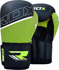 RDX Maya Hide Leather Boxing Gloves Fight Punch Bag MMA Muay Thai Grappling FG U