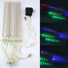 Shower Rain LED Light Tube String 144 LED Meteor Christmas Tree Party Decor KEUM