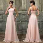 Pink / Purple Long Wedding Ball Gown Evening Formal Party Prom Bridesmaid Dress