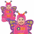 Childrens Butterfly Costume Amscan Flutterby Baby Outfit Kids Animal Fancy Dress