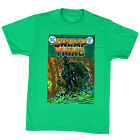 Swamp Thing DC Comics - Swamp Thing Cover - green t-shirt - Official Merch