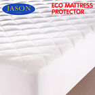 JASON ECO MATTRESS PROTECTOR TOPPER COVER SINGLE DOUBLE KING QUEEN WASHABLE