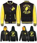 Rocky Balboa Italian Stallion Boxing Jacket Hoodie Hoody Adult Kids Black Yellow