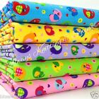 "per half metre cute mini elephant  polycotton fabric 44"" wide 112cm"