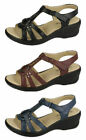 Ladies Eaze synthetic sandal F3113