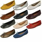 Ladies Clarks Flats Style - Freckle Ice
