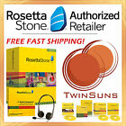 NEW! Rosetta Stone® GREEK LEVEL 1 HOMESCHOOL + AUDIO COMPANION CD + HEADSET!