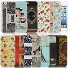 Vintage Collection Hard Case Back Cover for iPhone 5 & 5S With Screen Protector