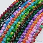 Top Quality Lots 30pcs Czech Glass Round Loose Spacer Beads Jewelry Findings 8mm