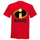 Mr Incredible Inspired Fathers Day Step Dad Boys Mens Funny T Shirt T-Shirt
