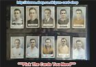 ☆ Gallaher - Famous Footballers (Green) 1925 ***Pick The Cards You Need***