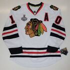 PATRICK SHARP CHICAGO BLACKHAWKS 2015 STANLEY CUP REEBOK EDGE AUTHENTIC JERSEY