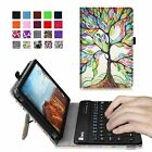 Folio Stand Case Cover Bluetooth Keyboard for Verizon Ellipsis 8 4G LTE Tablet