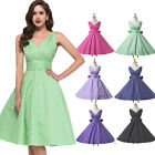 Vintage Style Retro Housewife Polka Dots Rockabilly 1940's 1960's Pinup Dresses