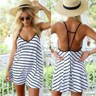 Women Sleeveless Party Dress Evening Cocktail Casual Mini Summer Sexy Dress