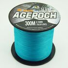 Blue 100M 300M 500M 1000M 100% PE Dyneema Agepoch Braided Fishing Line Kite Line