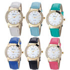 Fashion Man And Women Watch Leisure Watch Retro Faux Leather Analog Quartz Watch