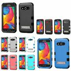 For Samsung Galaxy Avant TUFF Hybrid Hard Soft Dual Layer Stand Case Skin Cover