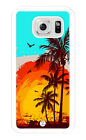 iZERCASE Samsung Galaxy S7, S4, Galaxy S5, Galaxy S6 Case. Tropical Art Design