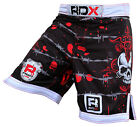 RDX Fight Shorts MMA Grappling Short Kick Boxing Muay Thai Pant Mens Wear UFC X7