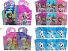 Disney Frozen Anna Elsa Olaf Birthday Party Favor Bags Gift Goodie Candy Treat