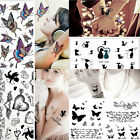 Sexy Removeable Waterproof Temporary Tattoo Body Art Sticker 6 Styles U Pick