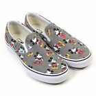 Vans Unisex Disney Classic Slip-On Canvas Mickey Mouse Frost Grey