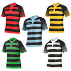 New Mens Kooga Sublimated Match Collared Short Sleeve Rugby Tshirt Sizes S-3XL