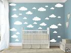 CLOUDS Removable wall stickers for Nursery or kids room
