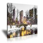 NEW YORK CITY Central Park Canvas Framed Print 19 ~ More Size