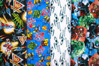 SUPER HEROS #1 Fabrics, Sold Individually, Not As a Group, By The Half Yard