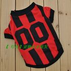 Puppy Dog Stripe Vest Clothes Small Cat Summer T-shirt Apparel Clothing for Pet