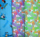 Clearance PEANUTS  Fabrics, Sold Individually, Not As a Group, By The Half Yard