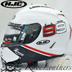 HJC IS-17 LORENZO 99 WHITE FULL FACE MOTORCYCLE MOTORBIKE BIKE HELMET