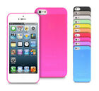 9 Colour Super Slim Ultra Thin Matte Soft Phone Back Case Cover For Iphone 5 5S