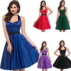 ROCK N ROLL Short Prom Dresses Cocktail Party Dress Vintage 50s Swing Pinup Gown