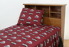 Mississippi State Bulldogs Sheet Set Twin Full Queen King Size Cotton