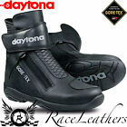DAYTONA ARROW SPORT GTX GORETEX BLACK SHORT MOTORCYCLE MOTORBIKE BIKE BOOTS