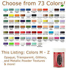 STAMPENDOUS Embossing Powder CLASSIC COLORS, M - Z opaque/blends/tinsel/glitter